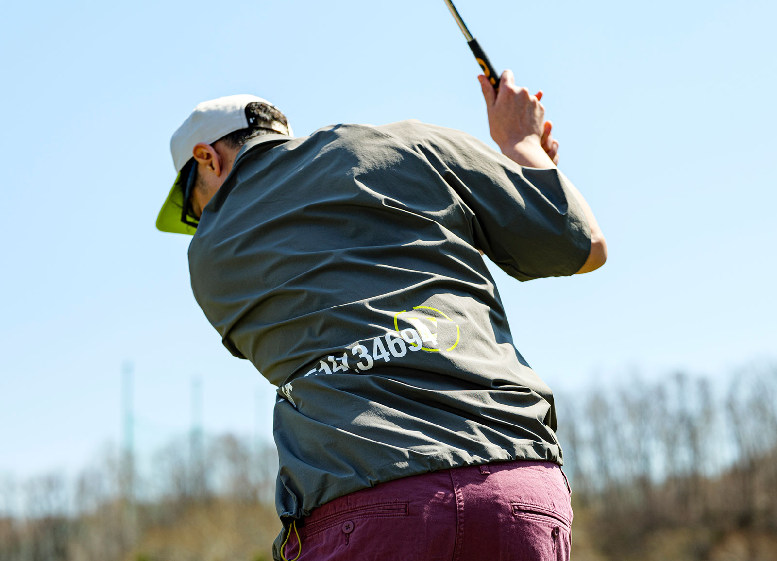 オンコースから日常まで。バーサタイルに着回せる新提案のゴルフウェア。